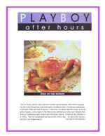 Playboy's Dish of the Month