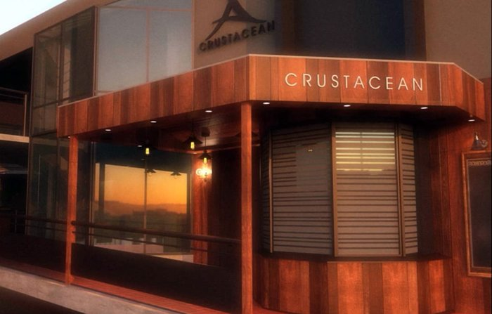Out Front of Crustacean